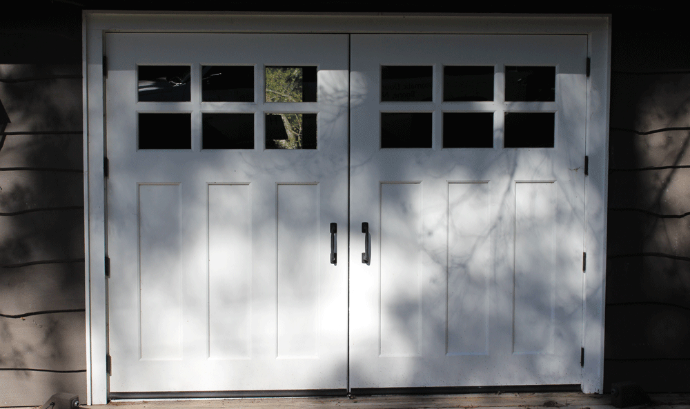 Custom Wood swinging door
